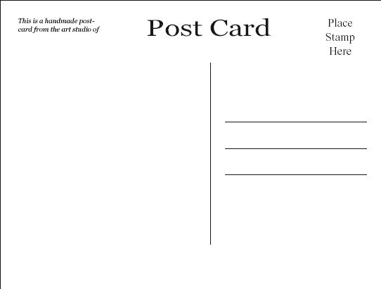 Best 25 Free postcards ideas – Free Postcard Template Download