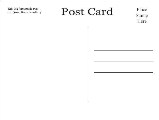 Part 12 daily journal workshop Dear World Secrets – Free Postcard Templates Download