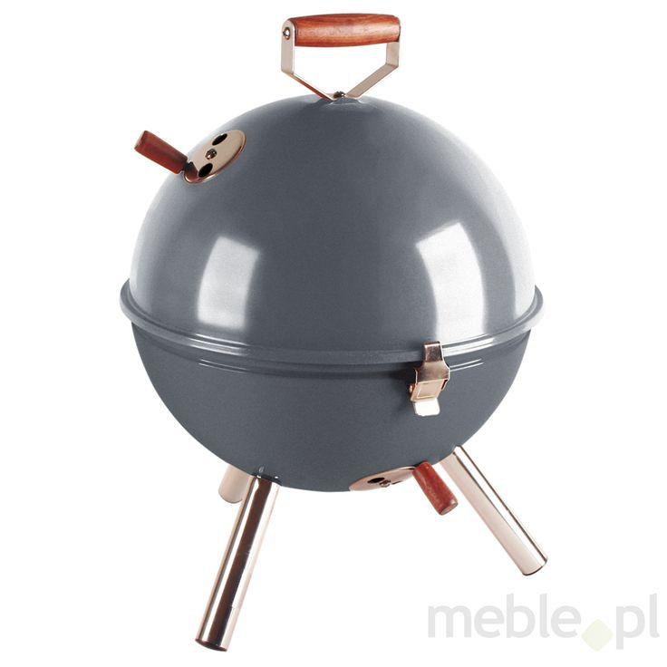 Grill okrągły szary Mini BBQ (do wyczerpania zapasów) CO-672061