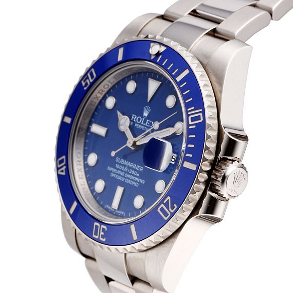 Find the best Rolex Submariner price for Rolex Submariner Date Watch: 18 kt white gold - 116619LB