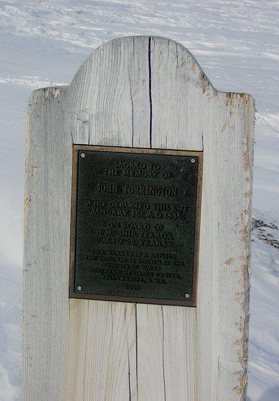 Grave Marker- Petty Officer John Torrington