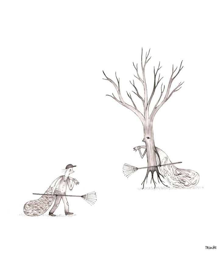 Arbol rastrilla almas, de Troche.