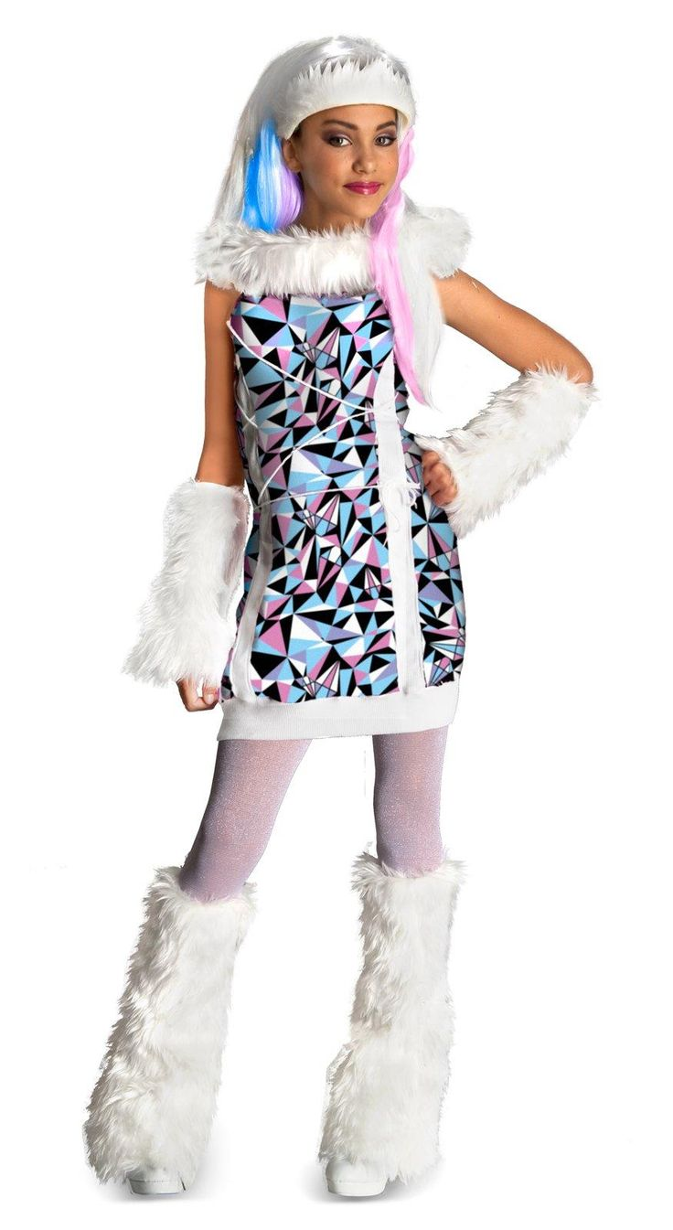 Monster High Abbey Bominable Child Costume from Buycostumes.com - Sara $24.99