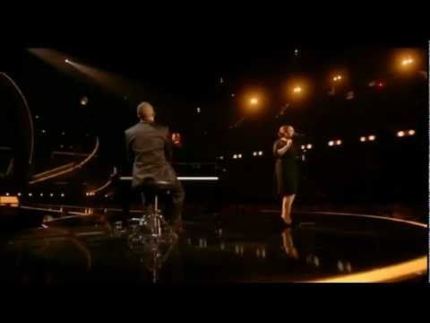 Adele performs Someone Like You live at the BRIT Awards 2011. This woman's voice gives me chills every time that I hear her! Amazing voice.