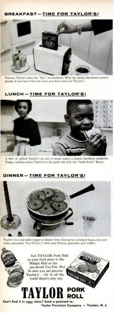 Taylor Pork Roll, 1960