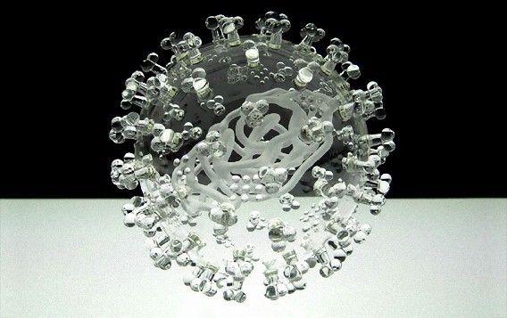 もやしもんファン胸熱!?病原菌をガラス細工で完全再現「Glass Microbiology」 : カラパイア