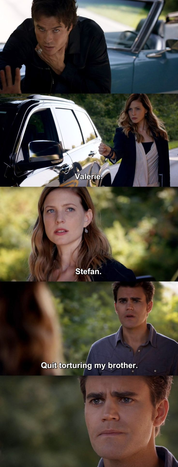 The Vampire Diaries TVD 7X05 - Stefan and Valerie