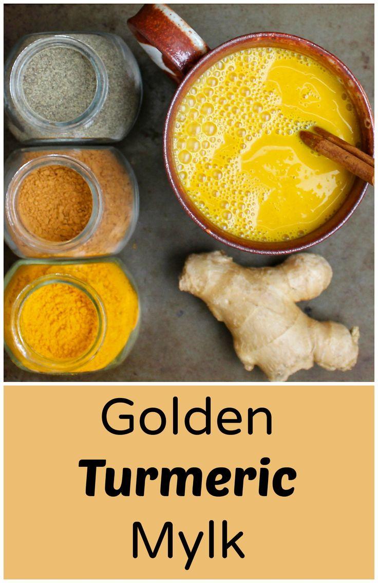 Anti-inflammatory Golden Turmeric Mylk (Vegan, Dairy-free)