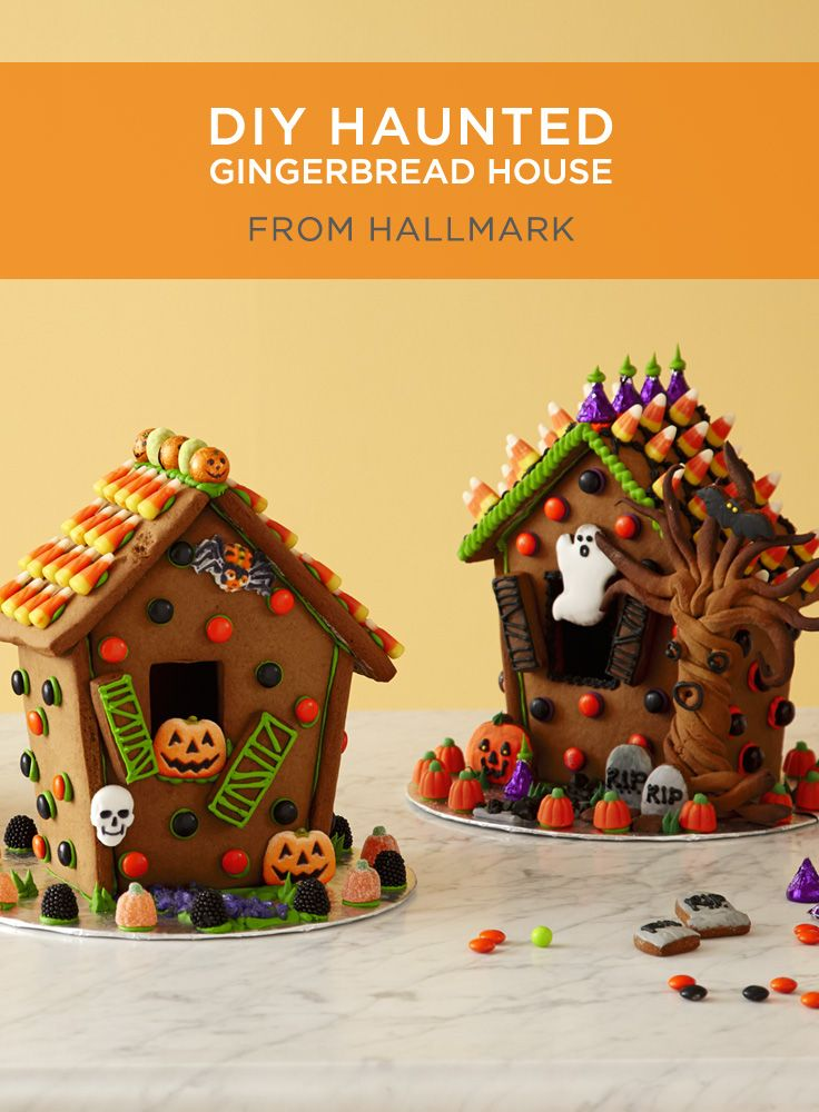 417 best Gingerbread House Halloween Houses images on Pinterest ...