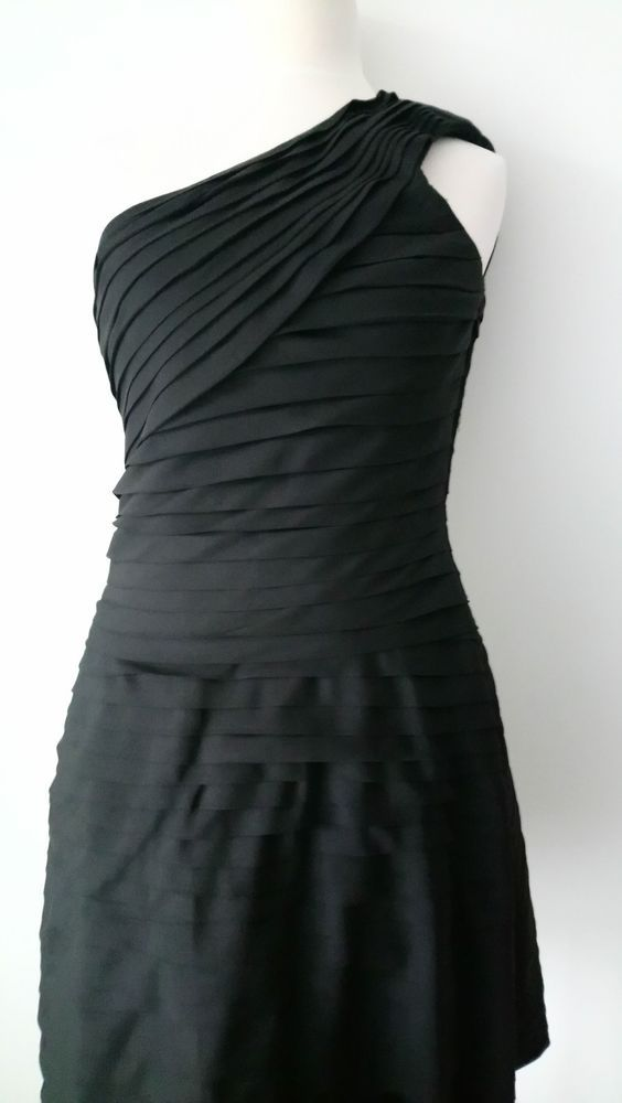 d1acb7178fc9 REISS SIZE 8 / 10 LADIES CHARLOTTE PARTY EVENING OCCASION PLEAT BLACK DRESS  #fashion #clothing #shoes #accessories #womensclothing #dresses (ebay link)