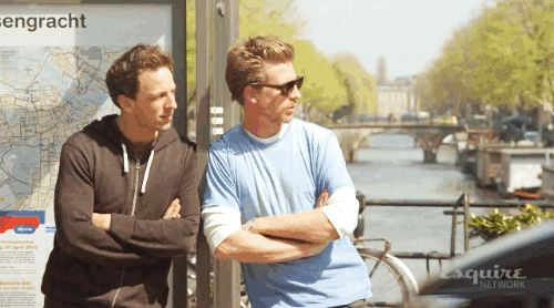 They also travel together. | Seth And Josh Meyers Are The Most Flawless Brothers Ever