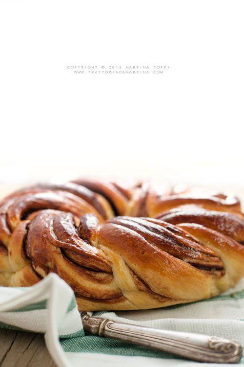 Angelica delle Simili variegata alla crema di nocciole - Trattoria da Martina - cucina tradizionale, regionale ed etnica