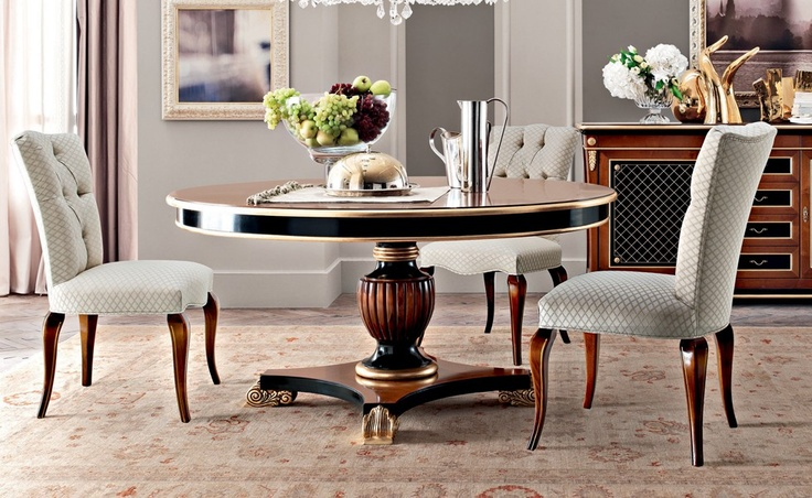 Purple - Fiordipesco | Classic Collections Le Fablier | Round table