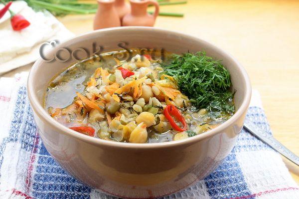 суп из нута маша и чечевицы