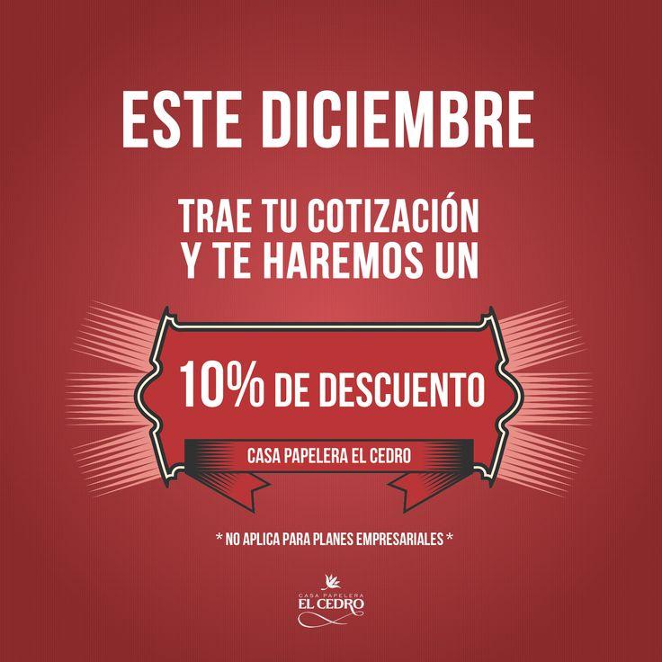 Promo #Diciembre Casa Papelera El Cedro #Invitaciones para #Bodas www.invitacioneselcedro.com