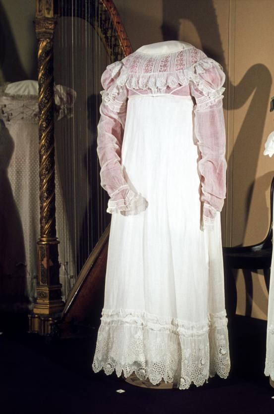 Dress, ca.1816, England, National Gallery of Victoria