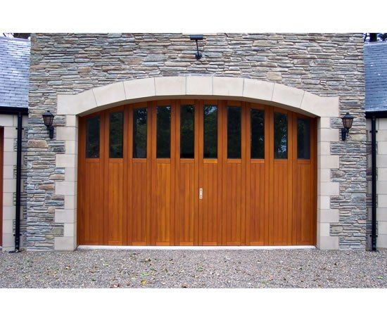 A sliding garage door system is probably the most functional, versatile, easy to use, and safest type of garage door you can buy. Doors run on tracks that allow the door to slide out of the main en…