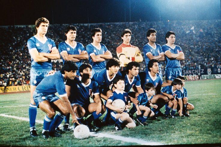 Universidad de Chile - Plantel 1986