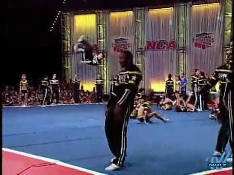 one of my favorite routines ever, even with the fall. 2010 NCA Nationals Top Gun - Senior Unlimited Coed 5.