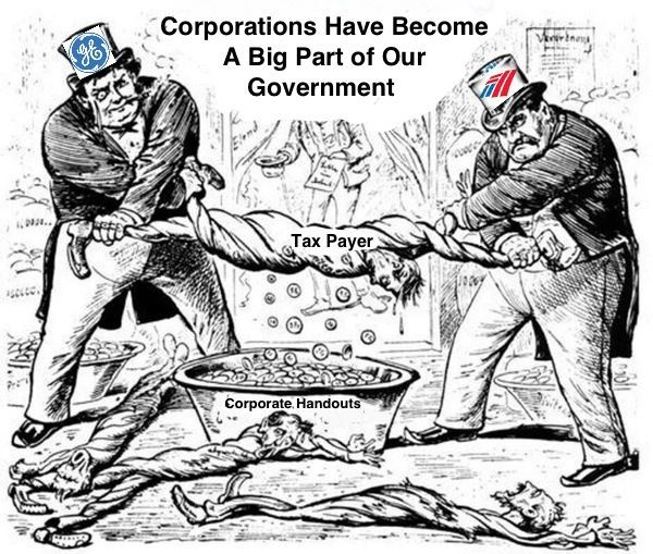 Corporatism is the NEW American Capitalism…