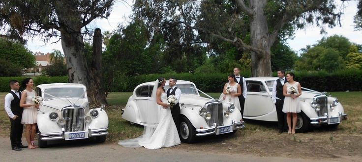 Classic Jags Wedding Cars Adelaide... We like it! #bridalideasexpo #classicjags #weddingcars Congratulations to Steven and Kate married at St Laurence's Church North Adelaide and may we wish you both all the best for your future together. From Sally, Stan and all the team at Classic Jags.