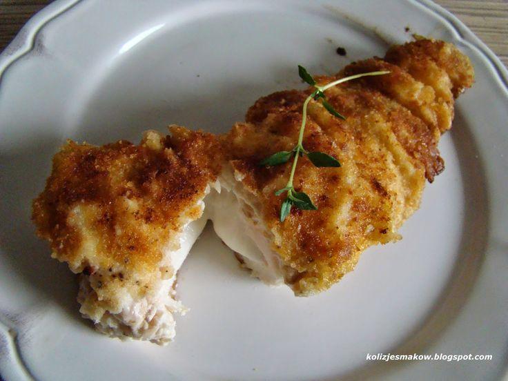 Kolizje smaków: Filet z kurczaka nadziewany mozzarella