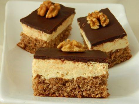 Egyszerű és nagyszerű diós sütemény. Ha fincsi ínyencségre vágyunk, érdemes elkészíteni. Nem macerás, a kezdő háziasszonyok is meg tudják csinálni. Hozzávalók: a piskótához: 5 tojás 10 evőkanál liszt 10 evőkanál barna cukor 5...