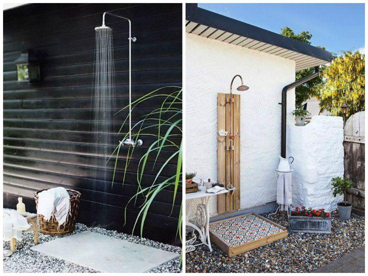 Chuveiro e ducha em ambiente externo al m do bvio chuveiros ao ar livre ems e ao ar livre - Duchas exteriores para piscinas ...