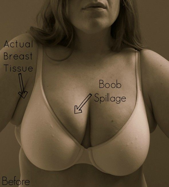 Bra Fitting 101 - a funny blog post about a problem many of us have... and how to fix it.