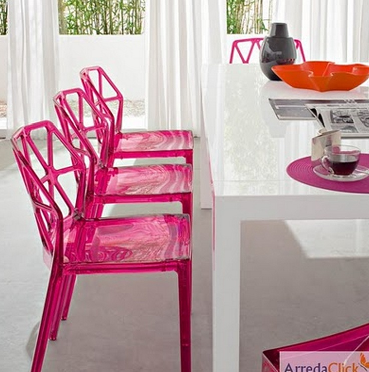 yumminess - La Marie transparent chair by Kartell
