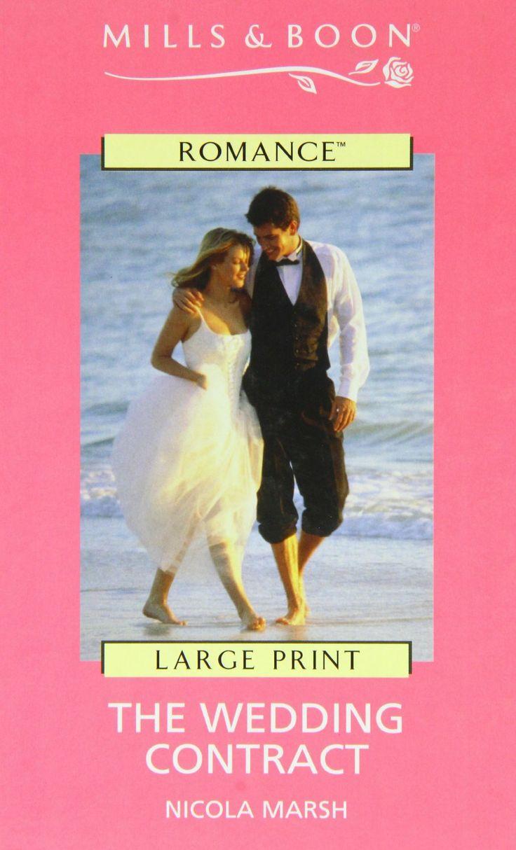Amazon.com: The Wedding Contract (9780263181227): Nicola Marsh: Books