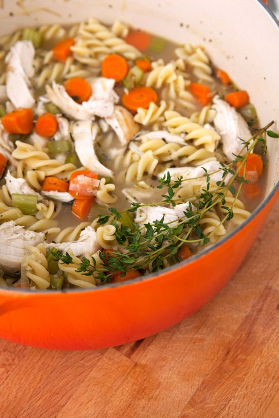 The Perfect Chicken Noodle Soup Recipe: Chicken Soups, Chicken Noodle ...