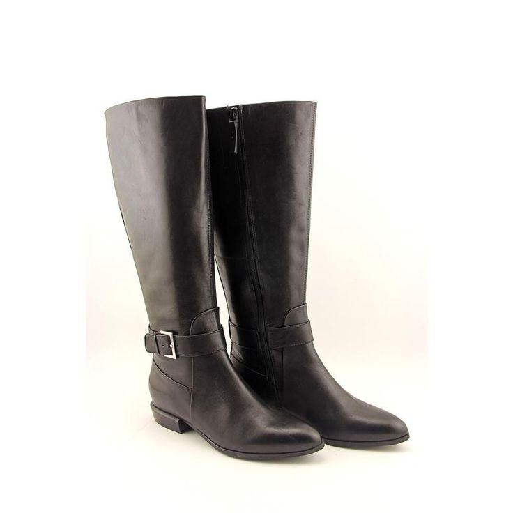 Nine West Diablo Women Us 6 Black Knee High Boot Blemish 11215