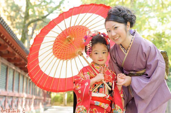 七五三の写真撮影 @文京区・根津神社の画像:「かぼふぉと」撮影ブログ