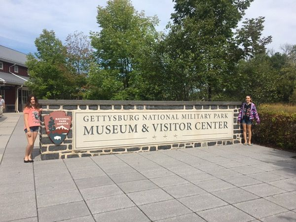 Drive through Gettysburg Battlefield and learn a little history also