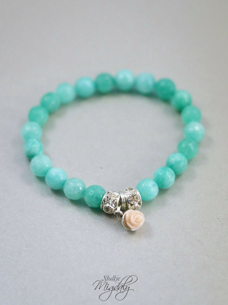Mint faceted jade bracelet