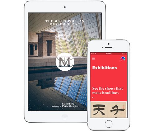 The easiest way to see what's happening at the Met every day—wherever you are. http://metmuseum.org/visit/met-app