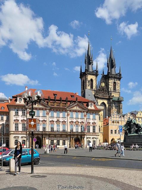 Prague : Church of Our Lady before Týn ( Kostel Matky Boží před Týnem ) 2/2, via Flickr.