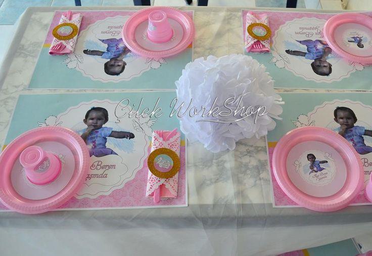 1 Yaş Doğum Günü Parti