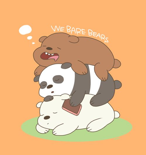 We Bare Bears Grizzly Bear Panda And Ice