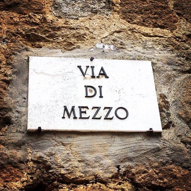 Via di mezzo - Monticchiello | #siena #valdorcia #toscana #italia #tuscany #italy