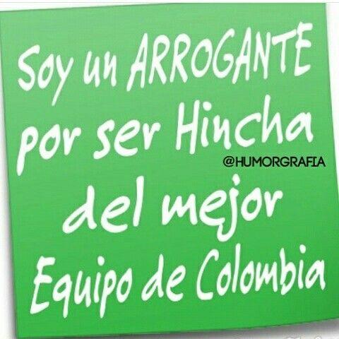Atlético Nacional  #notas #humor #imagechef #sarcasmo #chiste #gracioso #morboso #erotico #medellin #Colombia #instagram #pinterest #facebook #twitter #tumblr  @claudiagrajales1985