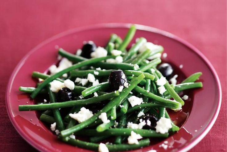 Griekse bonen   feta   olijven
