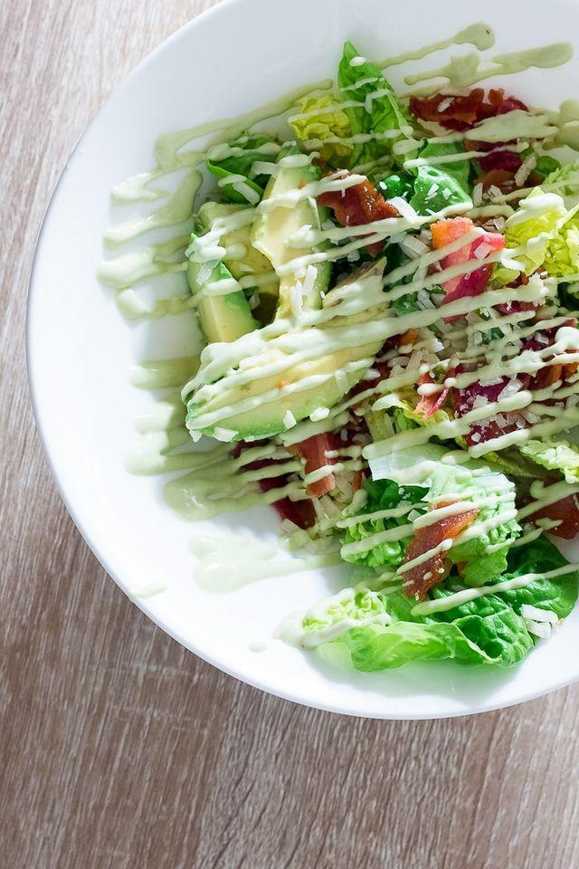 Grøn salat med grønnere avocadodressing | Hjemme hos Xenia | Bloglovin'
