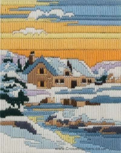 Winter Days Long Stitch Kit by Anchor-if I could just find the pattern, I would love to make this.