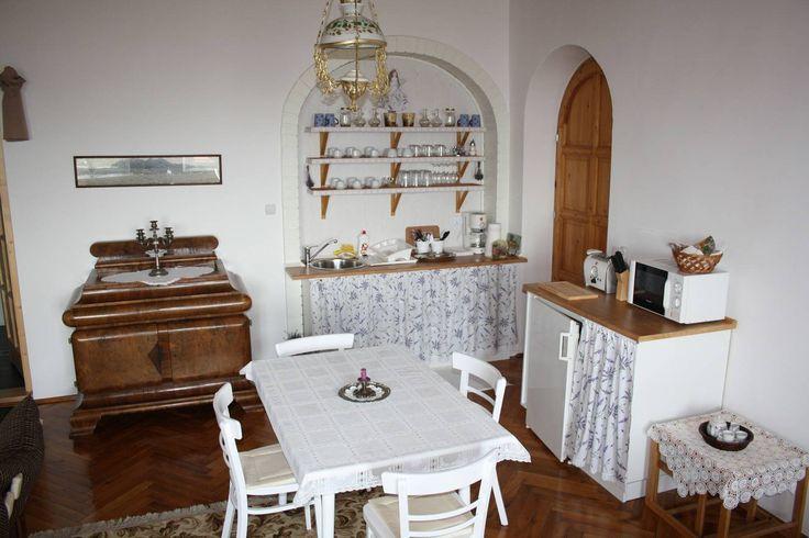 Georgina apartman konyhája