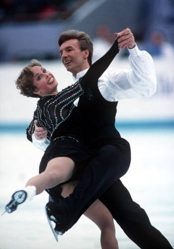 Jayne Torvill & Christopher Dean ~ Ice Dancing Gold Medal Winter Olympics 1984 ~ I loved watching this pair ice dance!