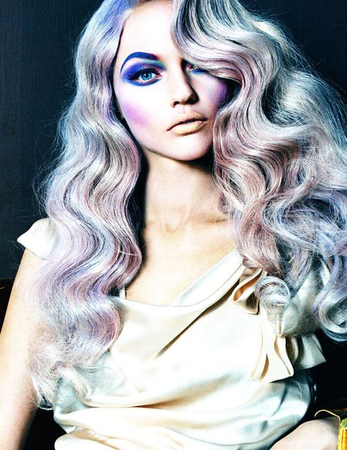 """Love is in the hair"" Vogue Italia #colors"