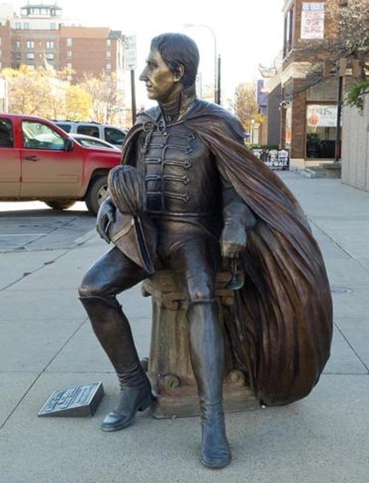 "Rapid City, South Dakota - The City of the Presidents - ""William Henry Harrison"""