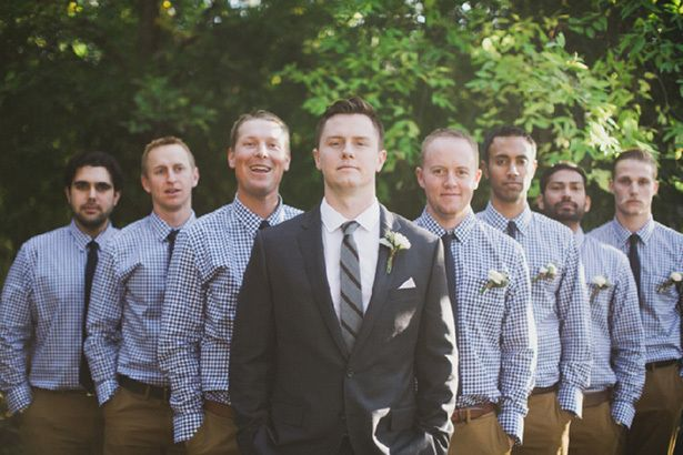Camping Wedding groomsmen attire | ... wedding. For a more coordinated look, have the groomsmen match their